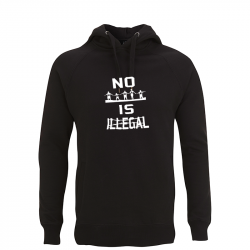no human is illegal – Kapuzenpullover N50P