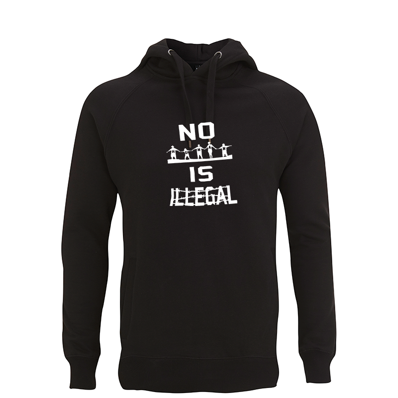 no human is illegal – Kapuzenpullover N50P