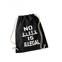 no human is illegal – Sportbeutel WM110