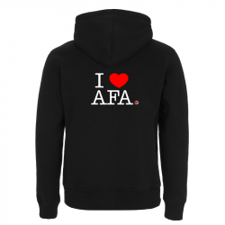 I love AFA – Kapuzenjacke N52Z