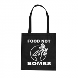 Food not Bombs – Stoffbeutel