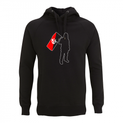 Anarchist and Flag – Kapuzenpullover N50P