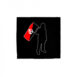 Anarchist and Flag – Aufnäher