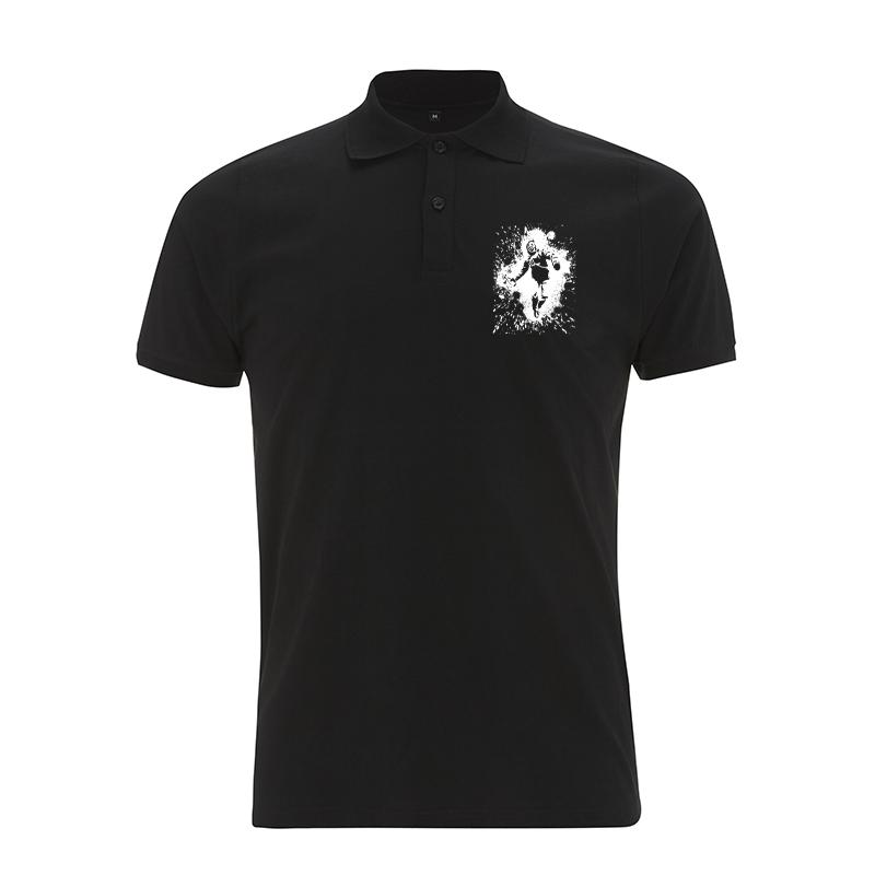 burn, baby burn – Polo-Shirt  N34