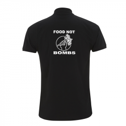 Food not Bombs – Polo-Shirt  N34