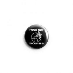 Food not Bombs – Button