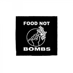 Food not Bombs – Aufnäher