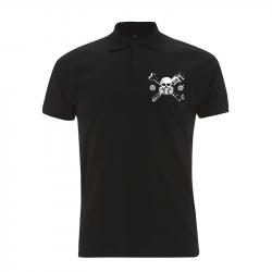 Skull Gasmask – Polo-Shirt  N34