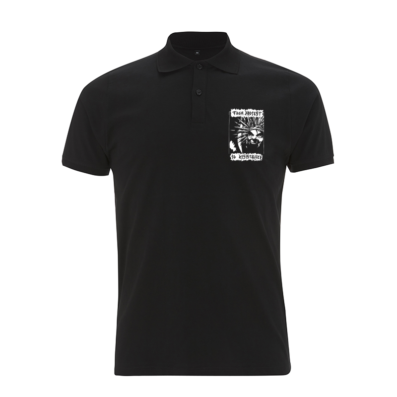 From Protest to Resistance – Polo-Shirt  N34