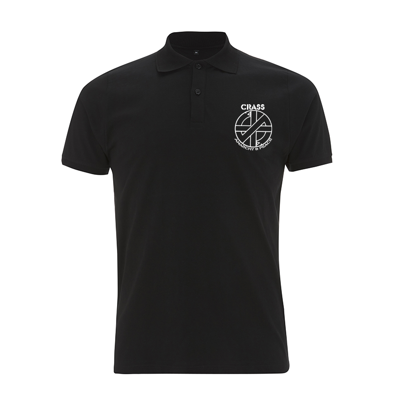 Crass - Fight War – Polo-Shirt  N34