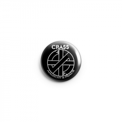 Crass - Fight War – Button