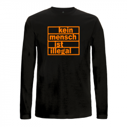 Kein Mensch ist illegal – Longsleeve EP01L