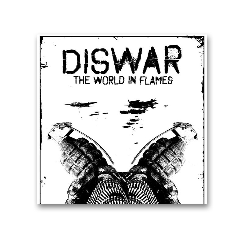 DISWAR - The world in flames -  LP