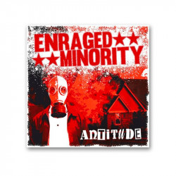ENRAGED  MINORITY - Antitude - LP
