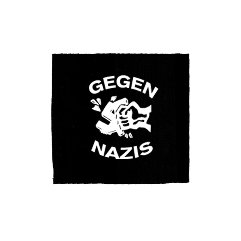 Gegen Nazis – Aufnäher