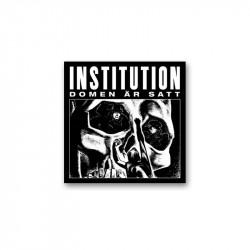 INSTITUTION - Domen är satt-  LP