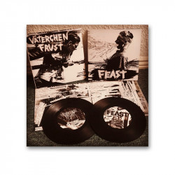 VÄTERCHEN FRUST / Feast -  Split 7""