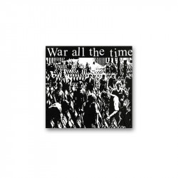 WAR ALL THE TIME - S/T  - LP