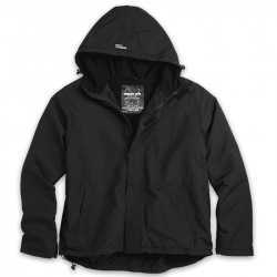 Windbreaker Zipper - SURPLUS - schwarz