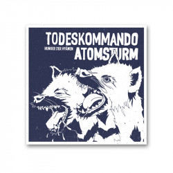TODESKOMMANDO ATOMSTURM -  Hunger der Hyänen - Vinyl LP / 12''