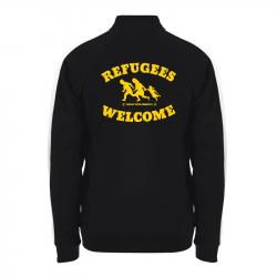 Refugees Welcome – Trainingsjacke – Sonar