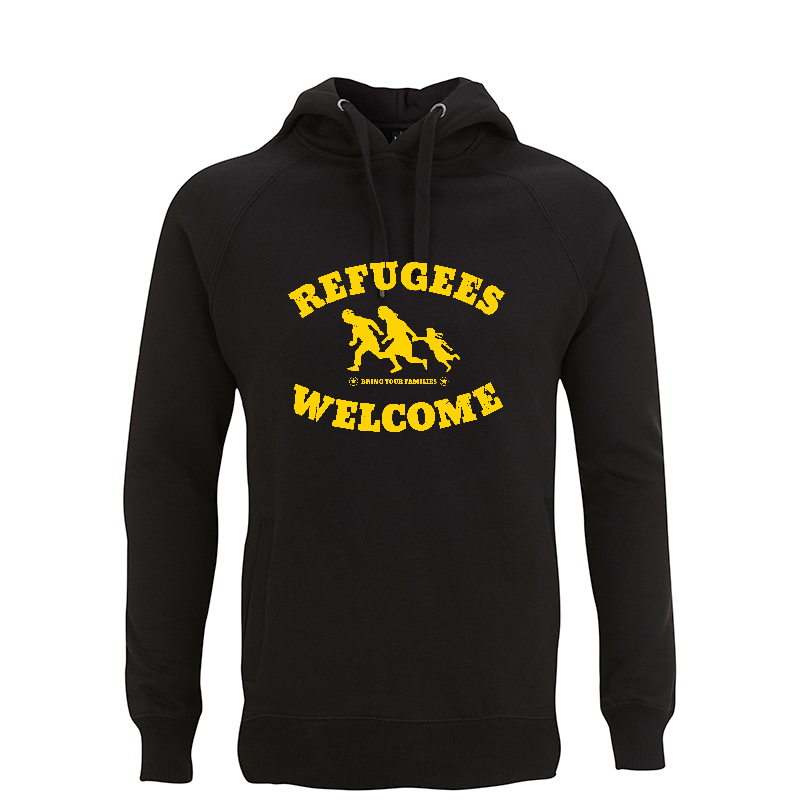 Refugees Welcome – Kapuzenpullover N50P