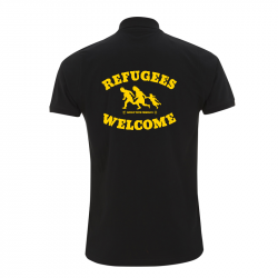 Refugees Welcome – Polo-Shirt  N34