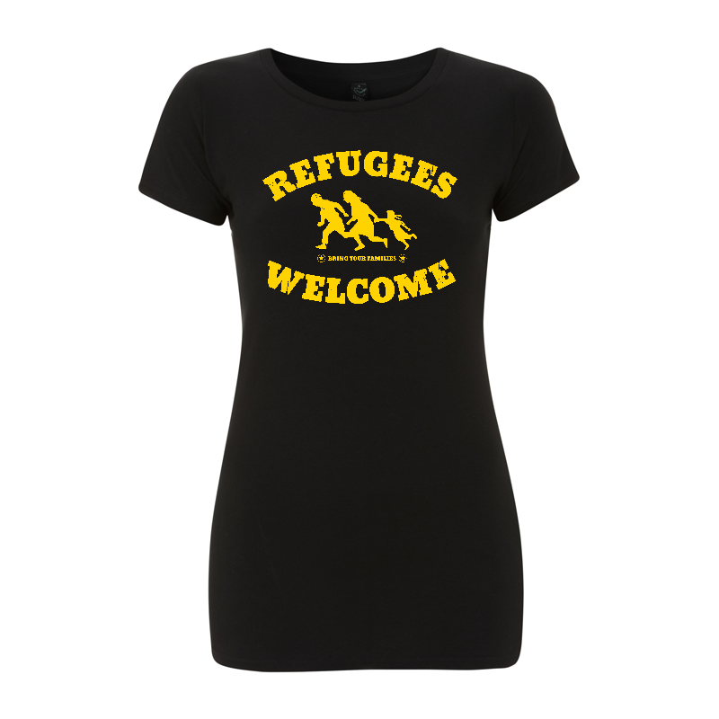 Refugees Welcome – Women's  T-Shirt EP04