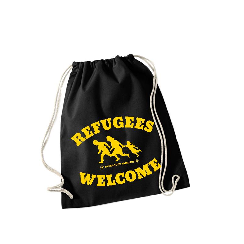 Refugees Welcome – Sportbeutel WM110