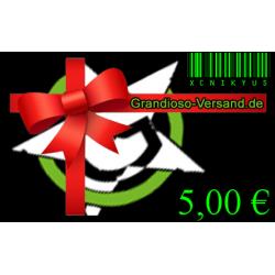 Grandioso-Gutschein (5,- EUR)