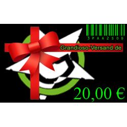 Grandioso-Gutschein (20,- EUR)