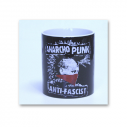 ANARCHOPUNK ANTI-FASCIST - Kaffeebecher