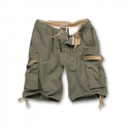Vintage Shorts washed - olive - SURPLUS