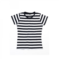 Women´s Stripy T  - Black / White