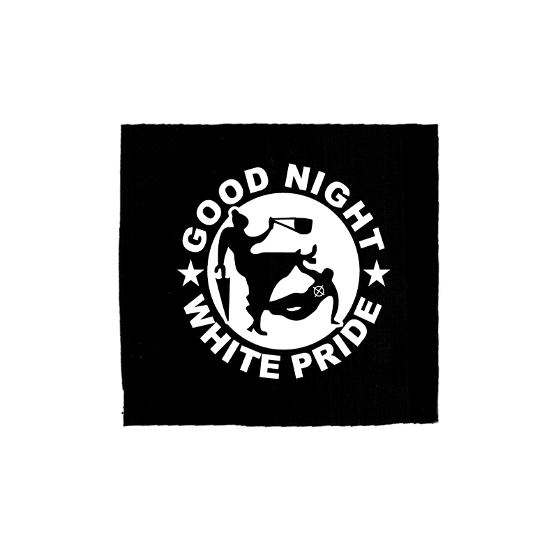Good Night White Pride – Oma – Aufnäher