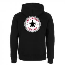 Antifascist Allstars - Black Star .  Kapuzenjacke N52Z