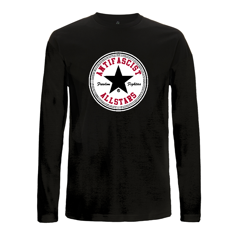 Antifascist Allstars - Black Star - longsleeve EP01L