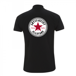 Antifascist Allstars - Red Star -  Polo-Shirt  N34