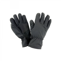 Softshell Thermal Glove - schwarz - Result