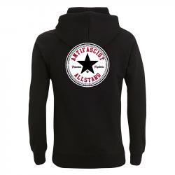 Antifascist Allstars - Black Star - Kapuzenpullover N50P