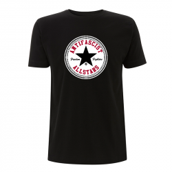 Antifascist Allstars - Black Star - T-Shirt N03