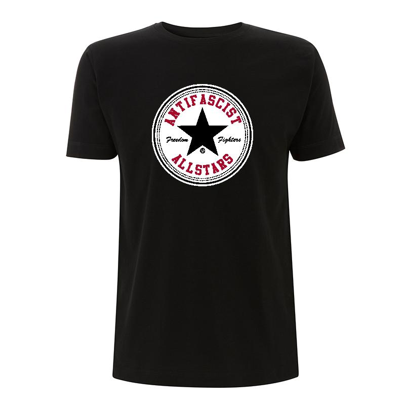 Antifascist Allstars - Black Star - T-Shirt N03