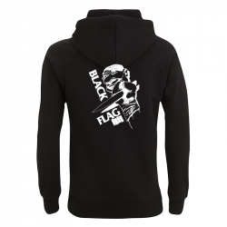 Black Flag Clown - Kapuzenpullover N50P