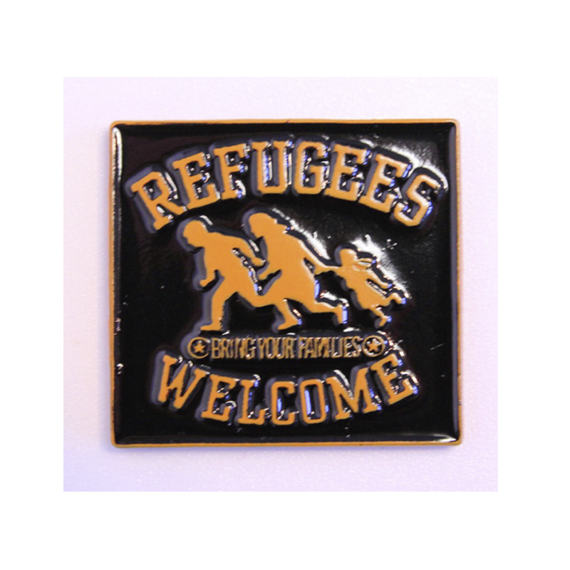 REFUGEES WELCOME - MAGNET