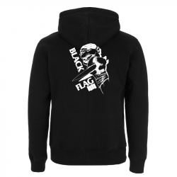 Black Flag Clown -  Kapuzenjacke N52Z