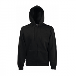 Classic Hooded Sweat Jacket - schwarz