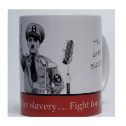 Charlie Chaplin - The Great Dictator - Kaffeebecher