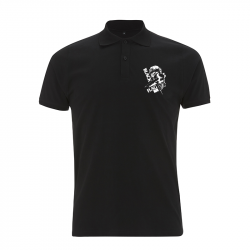 Black Flag Clown -  Polo-Shirt  N34