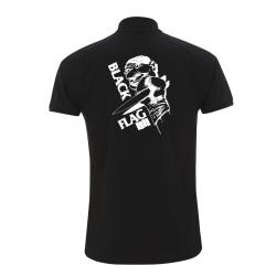 Black Flag Clown -  Polo-Shirt  N34