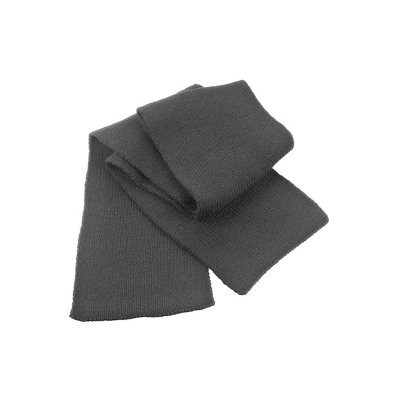Heavy knit scarf - Strickschal - schwarz